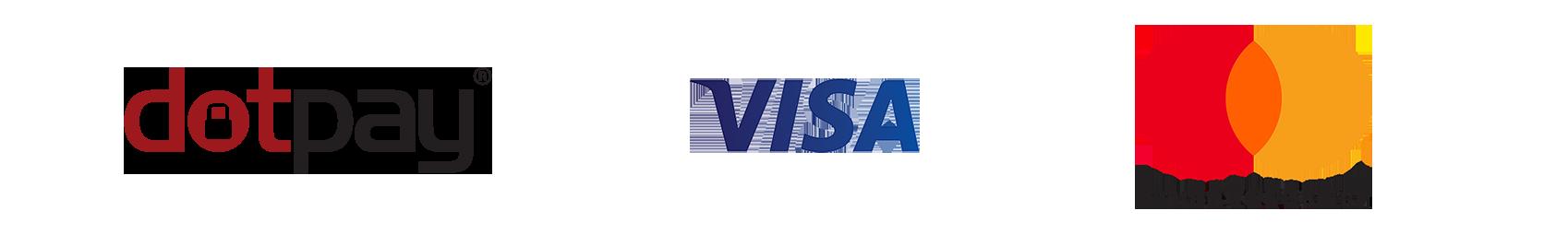 dotpay, Visa, Mastercard